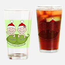 HaydenHallie2 Drinking Glass