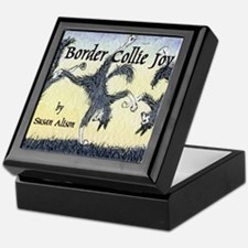 Border Collie Joy cover pic Keepsake Box