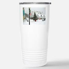 MackinacChristmasPoster3oofinal Travel Mug