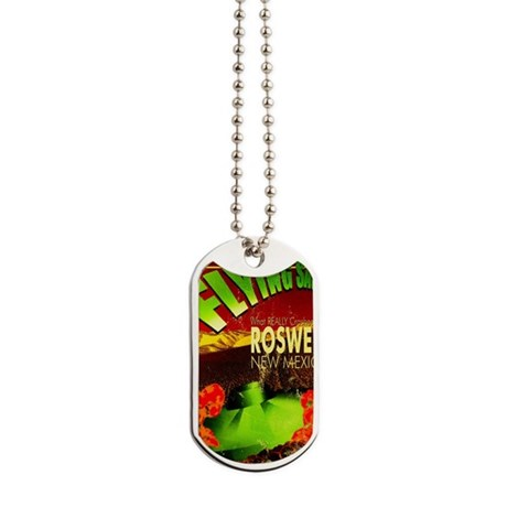 Roswell Poster Dog Tags