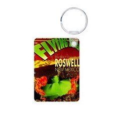 Roswell Poster Keychains