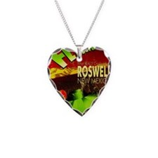 Roswell Poster Necklace