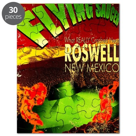 Roswell Poster Puzzle