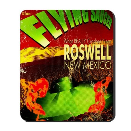Roswell Poster Mousepad