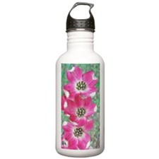 Pink Dogwood iPhone Ha Water Bottle