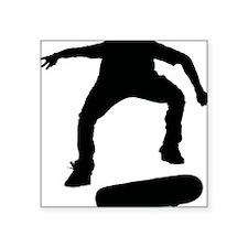 "Skate1 Square Sticker 3"" x 3"""