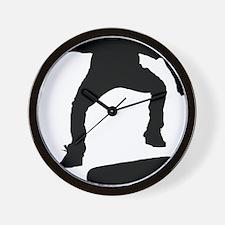 Skate1 Wall Clock