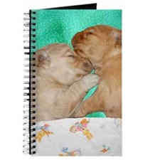 Puppies Sleeping iPhone Hard Case Journal