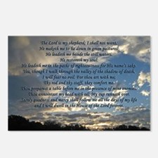 psalm23print14x10 Postcards (Package of 8)