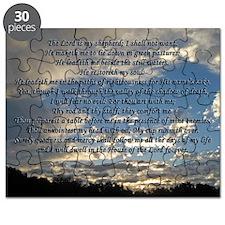 psalm23print14x10 Puzzle