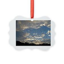 psalm23print14x10 Ornament