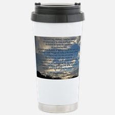 psalm23print14x10 Travel Mug