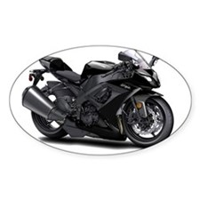 Ninja Black Bike Decal