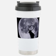 zazzle_elk_silhouette_card1 Travel Mug