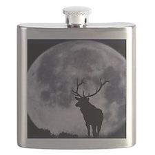 zazzle_elk_silhouette_card1 Flask