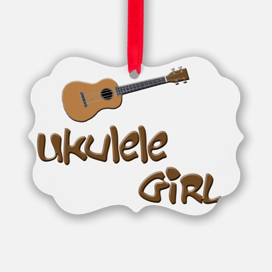 ukulele girls Ornament