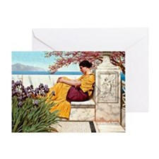 Goddard: Under the Blossom that Hang Greeting Card