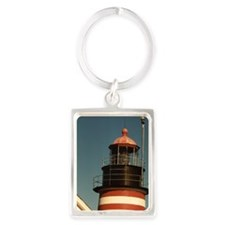 West Quady Head Closeup Portrait Keychain