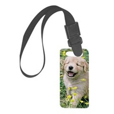 Golden Retriever iPhone 3G Hard  Luggage Tag