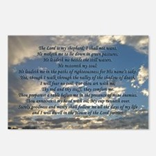 psalm23rect Postcards (Package of 8)