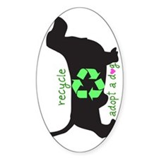 phone.recycle.heart Decal