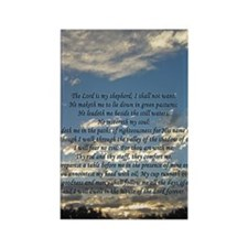 psalm23iphone4 Rectangle Magnet