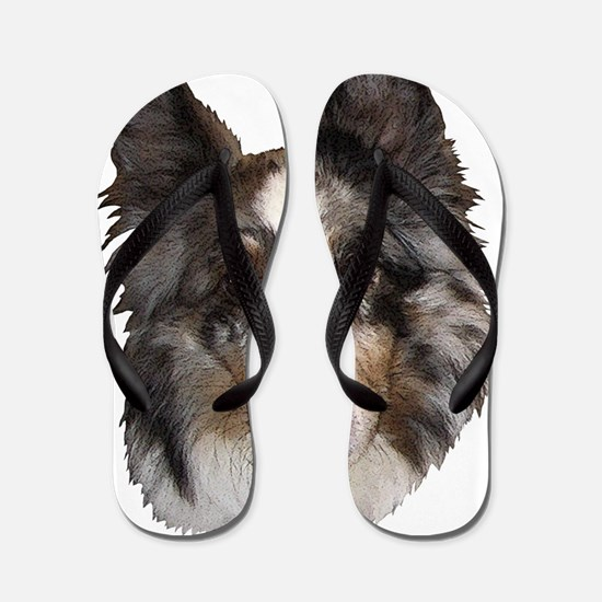 Sheltie4 Flip Flops