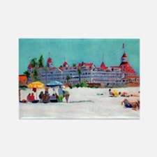 hotel del coronado picture Rectangle Magnet