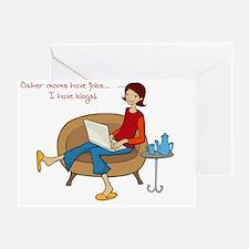 bloggingmomcup Greeting Card