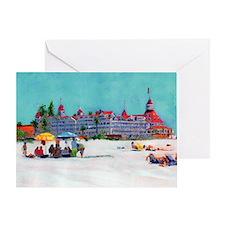 hotel del coronado picture Greeting Card