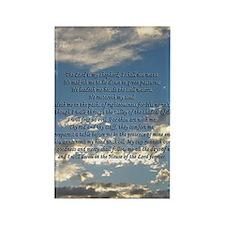psalm23sigg Rectangle Magnet