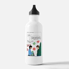 Unemployed...xmas Water Bottle
