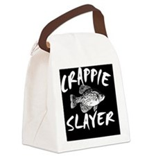CRAPPIE SLAYER PILLOW Canvas Lunch Bag