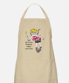Angel wishes Apron