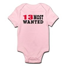 13 most wanted birthday designs Infant Bodysuit