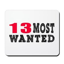 13 most wanted birthday designs Mousepad
