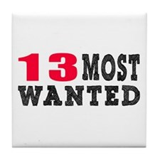 13 most wanted birthday designs Tile Coaster