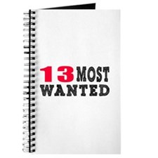 13 most wanted birthday designs Journal