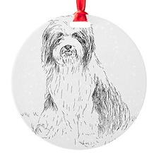 beardie-vp-1 Ornament