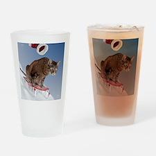 cpsled_stocking Drinking Glass