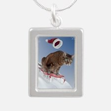 cpsled_stocking Silver Portrait Necklace