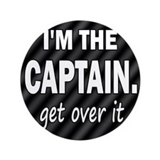 "im the captain blanket 3.5"" Button"