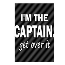 im the captain blanket Postcards (Package of 8)