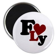 Fly (Heart) Magnet