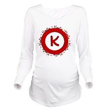 kassidylogo Long Sleeve Maternity T-Shirt