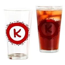 kassidylogo Drinking Glass