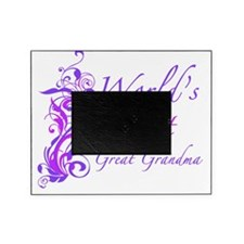 Floral_GreatGrandma Picture Frame