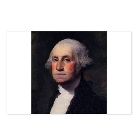 George Washington Postcards (Package of 8)