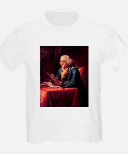 Benjamin Franklin Kids T-Shirt