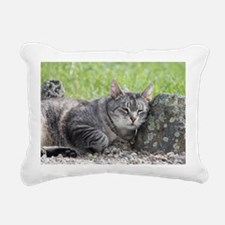 Rocked and Loaded Rectangular Canvas Pillow